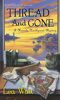 A Mainely Needlepoint Mystery: Thread and Gone