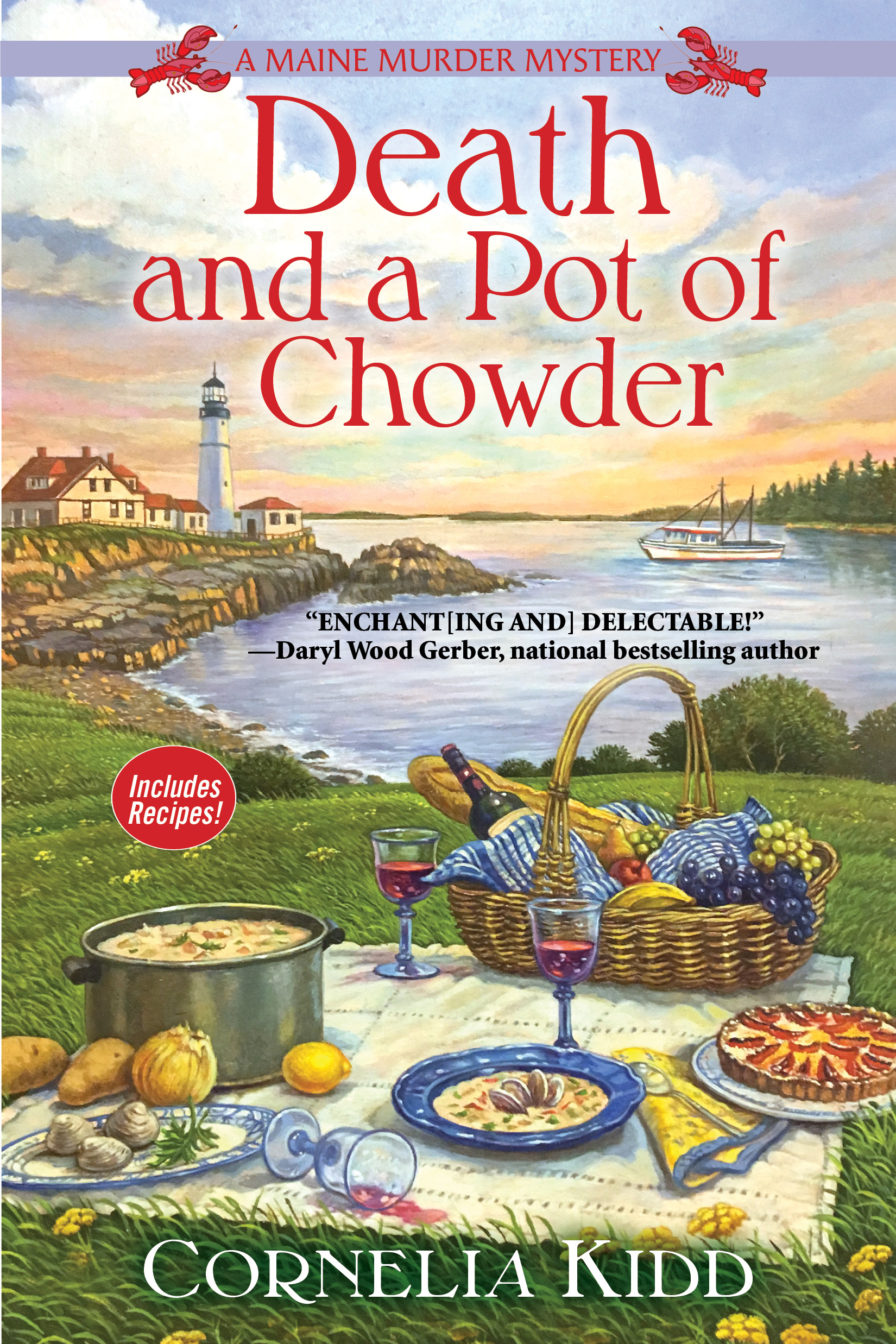 A Maine Murder Mystery: Death and a Pot of Chowder