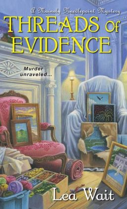 A Mainely Needlepoint Mystery: Threads of Evidence